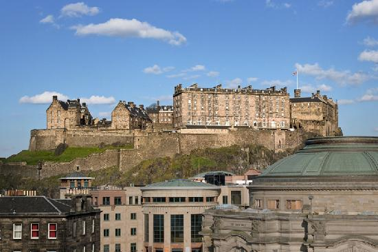 Sheraton Grand Hotel & Spa: Edinburgh Castle View