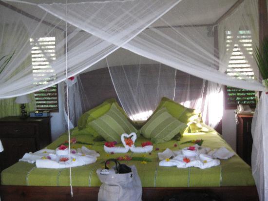 Ti Kaye Resort & Spa: The room. How romantic?