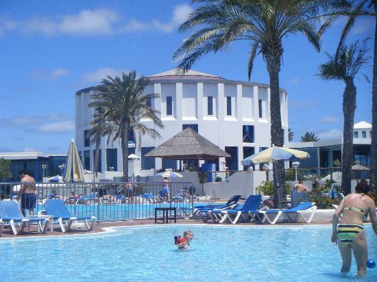 Sandos Papagayo Beach Resort: the hotel papagayo arena