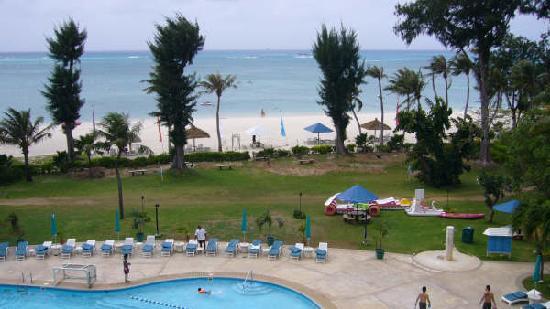 Fiesta Resort & Spa Saipan: オーシャンビュールームからの景色