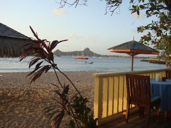 Bay Gardens Beach Resort: beach bar view