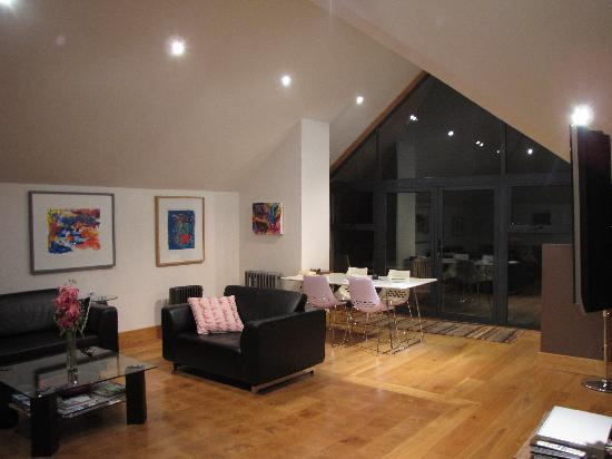 Attic Apartment Lounge Picture Of Hellifield Peel Castle