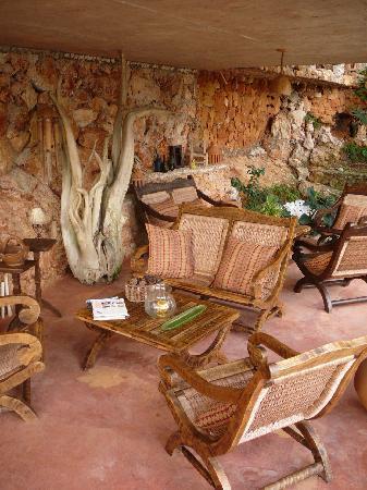 Paraiso Cano Hondo: A lounge area