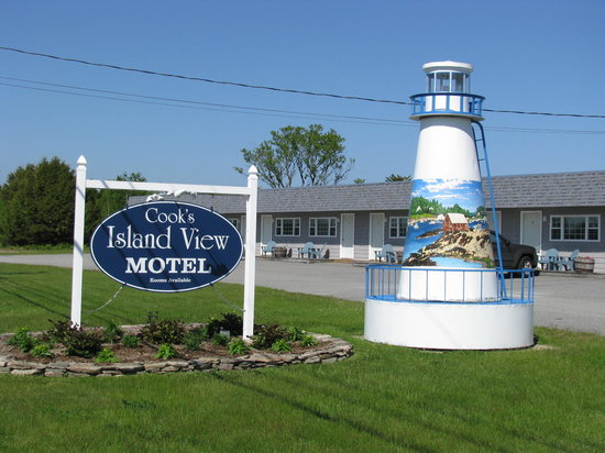 ‪‪Bailey Island‬, ‪Maine‬: Welcome to Cook's Island View Motel, Bailey Island, Maine‬