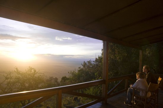 Mara West Camp : View from Secluded Chalet