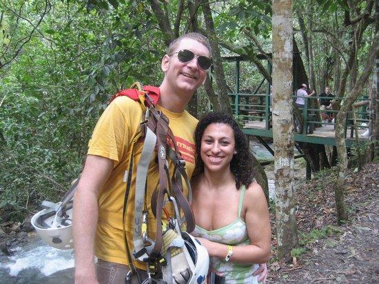 Chukka Caribbean Adventures - Tours: After the tour, a short walk back along the river
