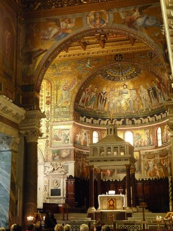 Santa Maria in Trastevere: Santa Maria Trastevere