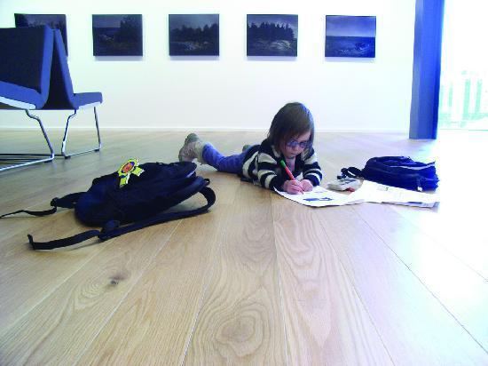 Брадфорд, UK: Enjoying a gallery trail