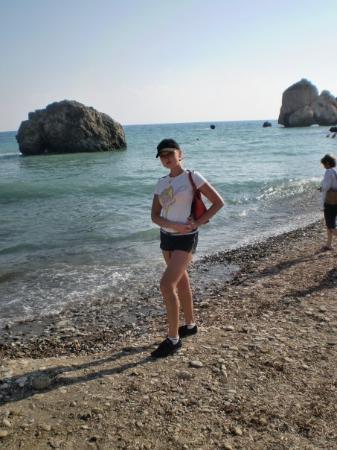 Limassol, Kypros: Aphrodite`s birth place. October 07
