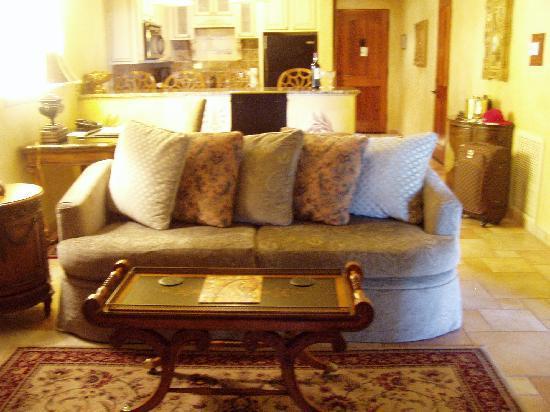 Ocean Lodge : Living area