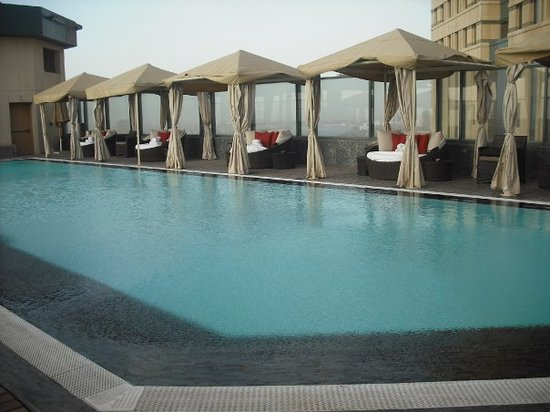 Fairmont Nile City: terrace