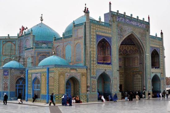 Balkh, Afghanistan: The Shrine of Hazrat Ali