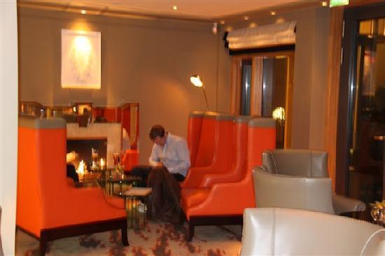 The Europe Hotel & Resort : Mein Lieblingsplatz am Feuer