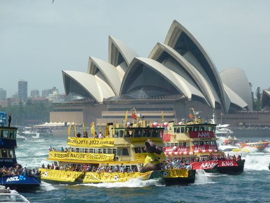 Real Sydney Tours: Australia Day on Sydney Harbour