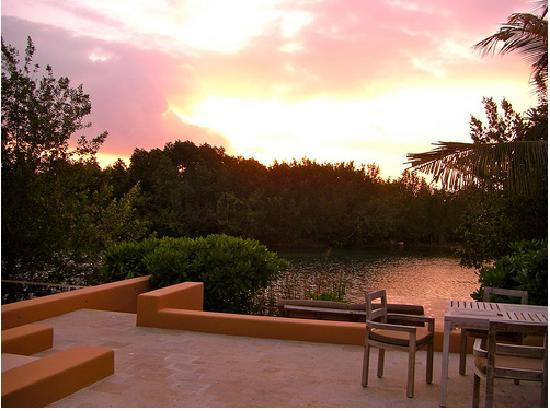 Banyan Tree Mayakoba: Sunrise at villa