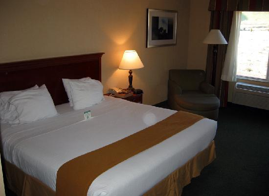 Holiday Inn Express Tehachapi Hwy 58 / Mill Street: Comfy King Size Bed