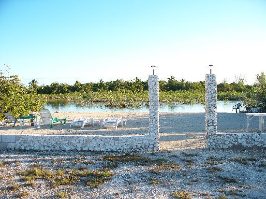 New Beach at Mangrove Cay Inn