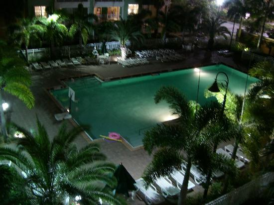 Mizner Place at Weston Town Center: pool view from room