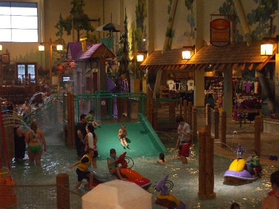 Great Wolf Lodge: Toddler Water Area