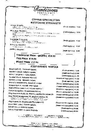 Rendezvous: Cyprus Specialties