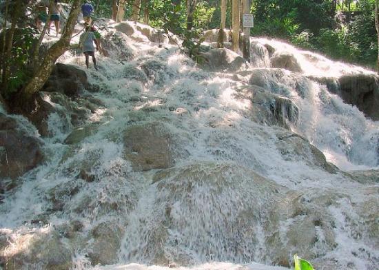 Dunn's River Falls near Ocho Rios, Jamaica