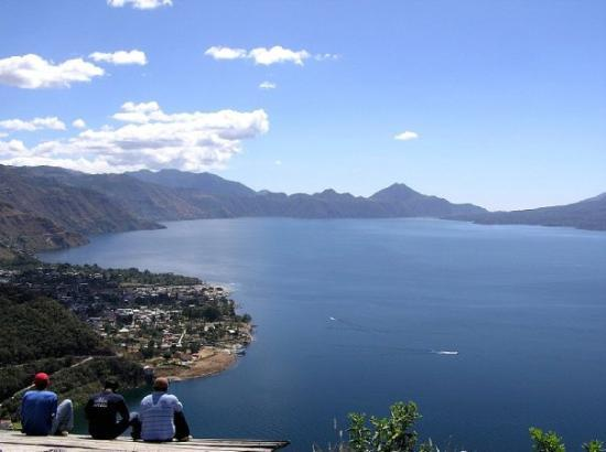 overlooking Lake Atitlan and Panajachel