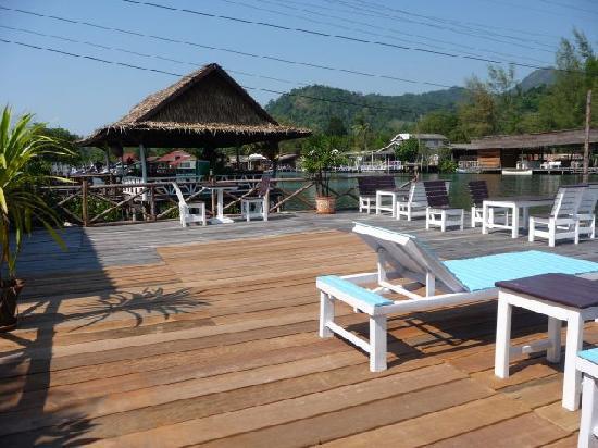 Baan Rim Nam: Sunbathing Deck or Sit Under the Stars at Night