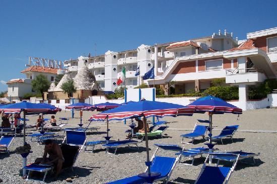 Hotel Residence Il Gabbiano: Direttamente sul mare