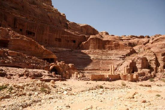 Petra verdensarvsted: the arena