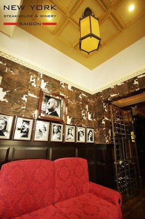 New York Steakhouse: The VIP room