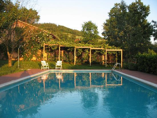 Enjoy the views and relax by our panoramic swimming pool at Locanda della Valle Nuova