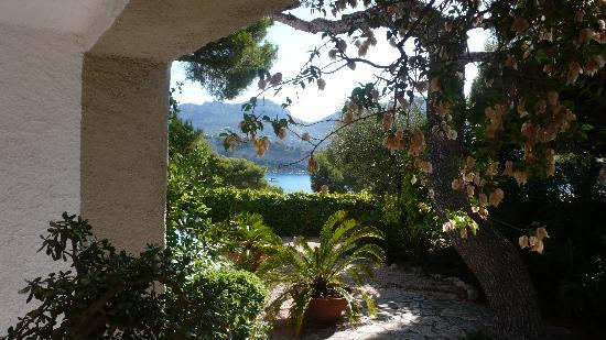 Astoria Villa: view from terrace