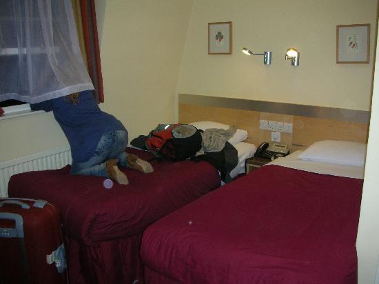 Winchester Hotel: Las camitas ricas