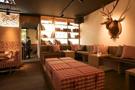 CERVO Zermatt: Lounge