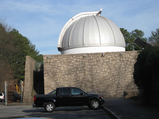 Planetarium review of fernbank science center atlanta for Hotels close to mercedes benz stadium atlanta ga