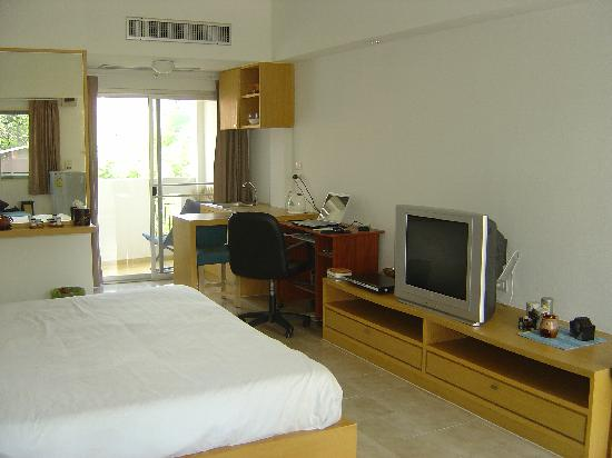My room at the Nantra de Boutique hotel