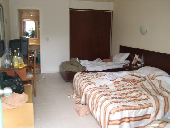 El Mouradi Club Kantaoui : así encontré la habitación el primer dia