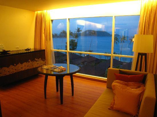Pullman Phuket Panwa Beach Resort: From the room at night