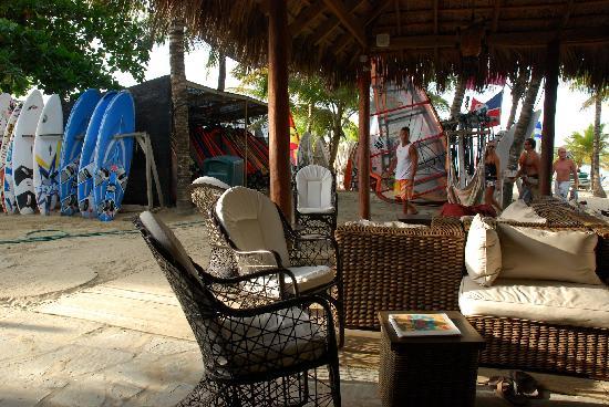 Hotel Villa Taina: Beach Lobby