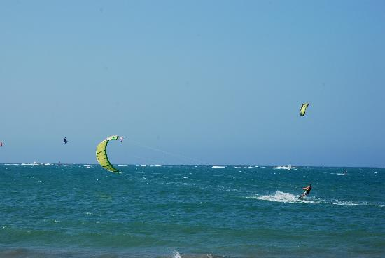 Hotel Villa Taina: Kitesurfing Beach