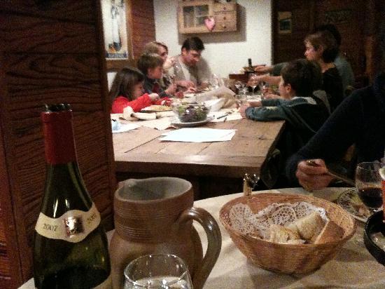 Chalet Hotel Fleur des Neiges : Dinner
