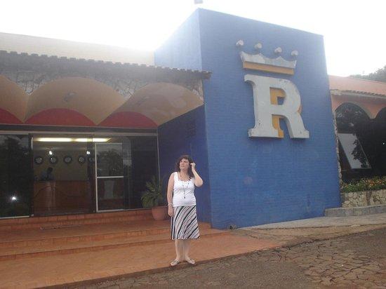 Royal Iguassu Hotel: Entrada Hotel Royal Park- Foz Do guazu