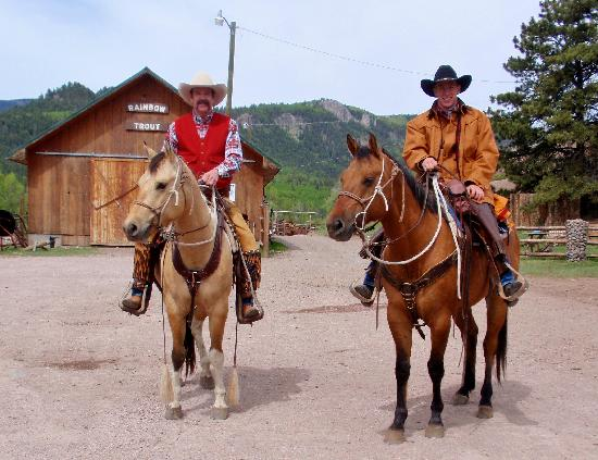 Rainbow Trout Ranch: Heading Out For The First Family Ride