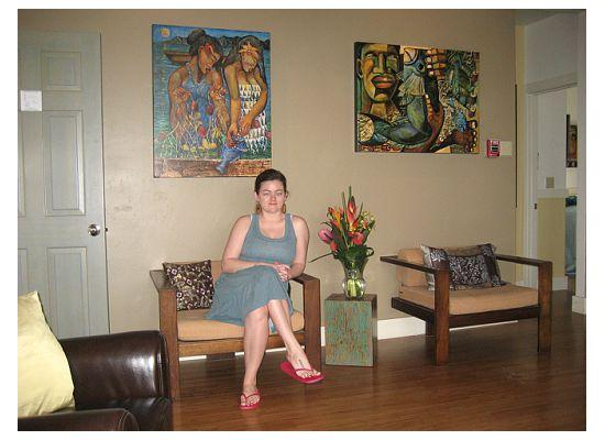 Paia Inn Hotel: Common Room