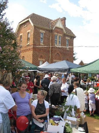 Mudgee, أستراليا: Mudgee Farmers Market