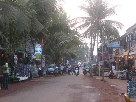 Goa, India: famous tito's road