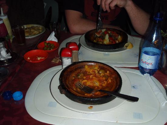 Surf Maroc Taghazout Villa: The food in Surf Maroc