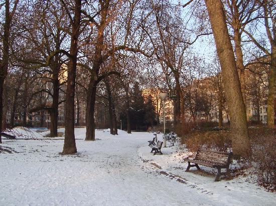 Leopold Hotel Antwerp: Park