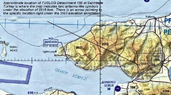 Gemlik, Turquía: Sahintepe Turkey map