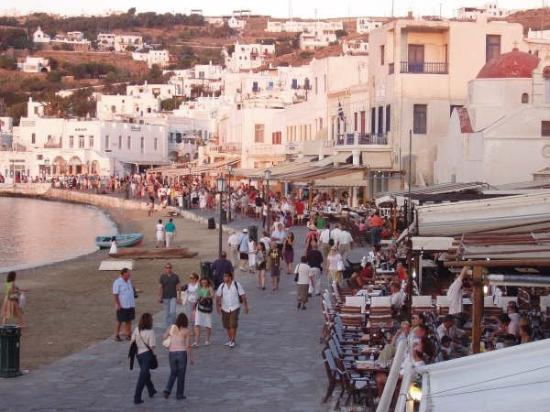 Mykonos Town Picture Of Music Cafe Mykonos Town Tripadvisor